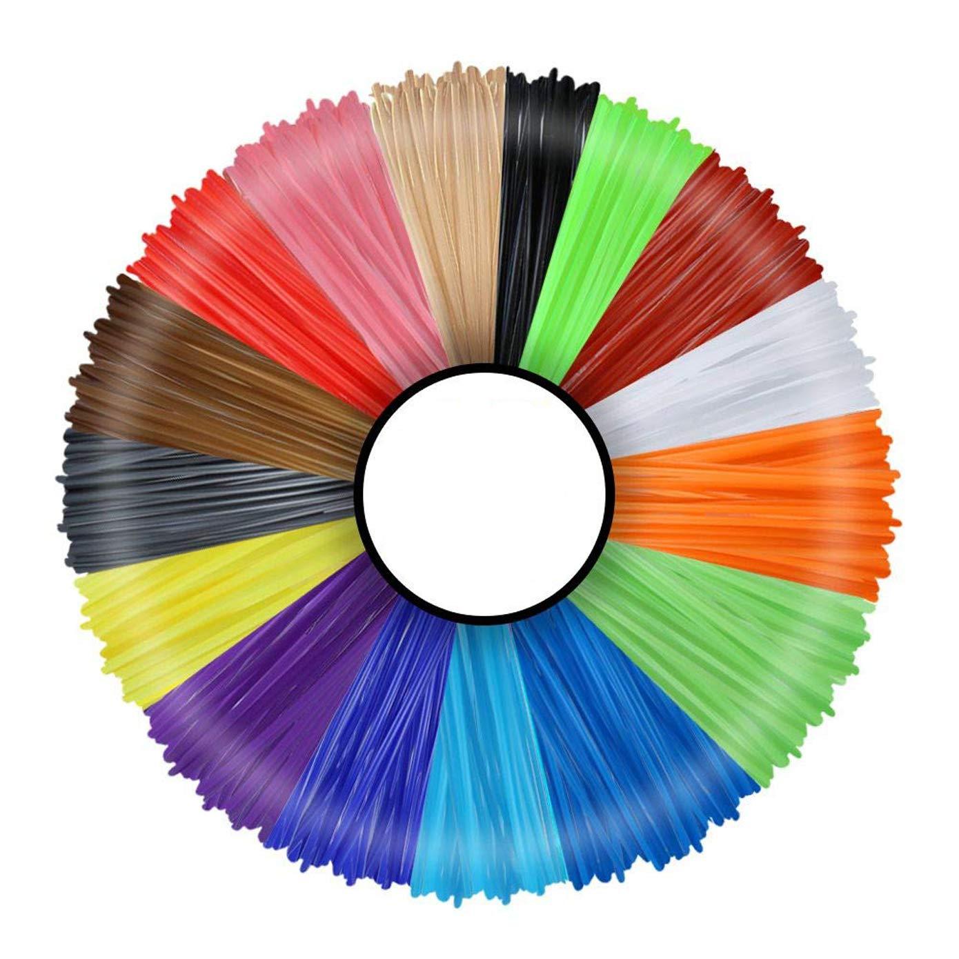 Multicolor PLA Filament Set of 16