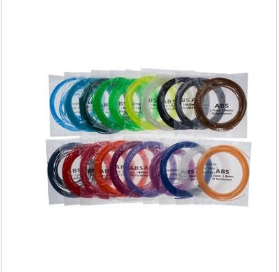 SUNLU ABS 3D Pen Filament - 5M - Set of 20