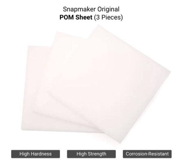 POM Sheets (3 Pieces)