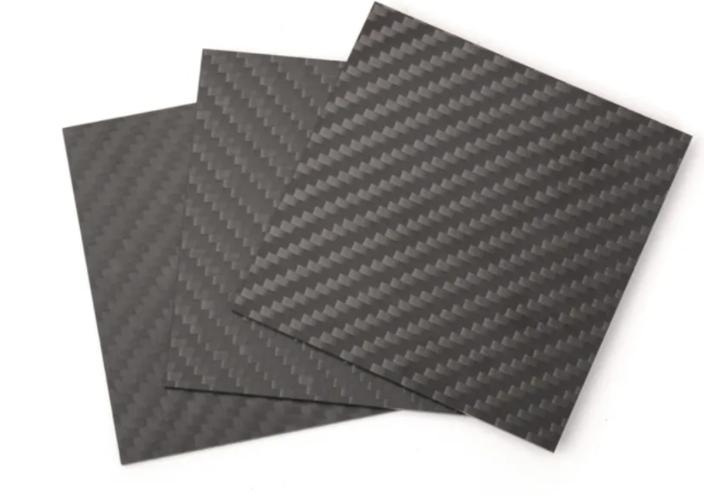 Carbon Fiber Sheet (3 pieces)