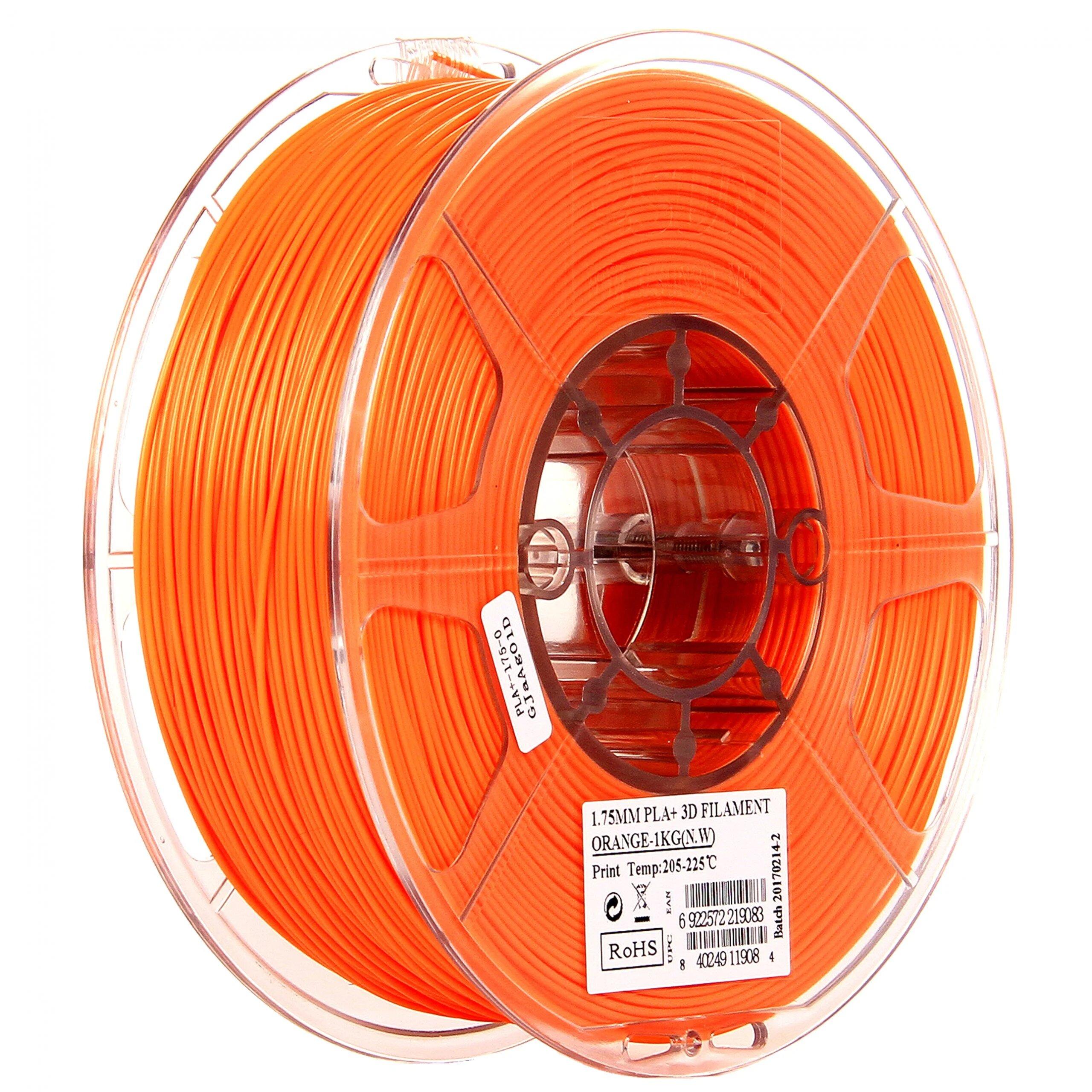 eSUN PLA Transparent Glass Orange Filament