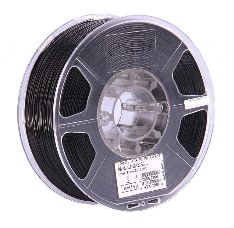 eSUN ABS + Black Filament