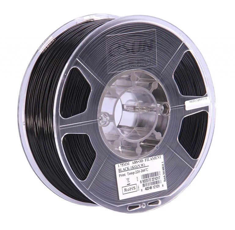 eSUN PETG Solid Black  Filament