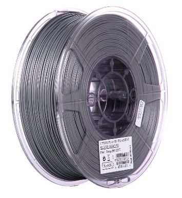eSun Silk-PLA filament Silver