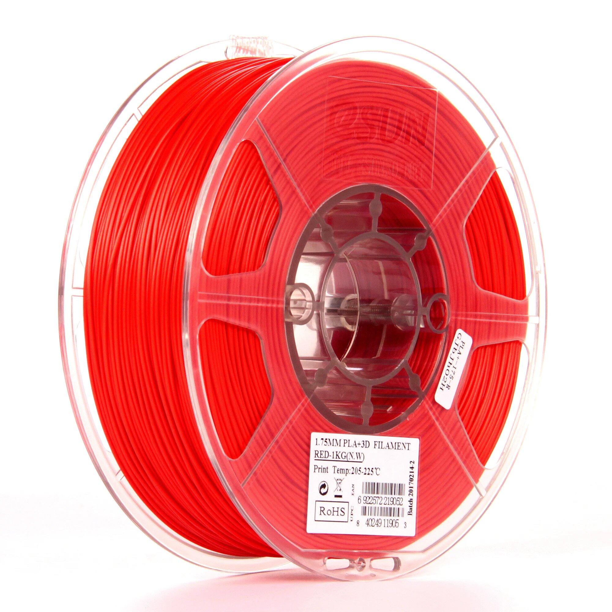 eSun Twinkling Filament Red