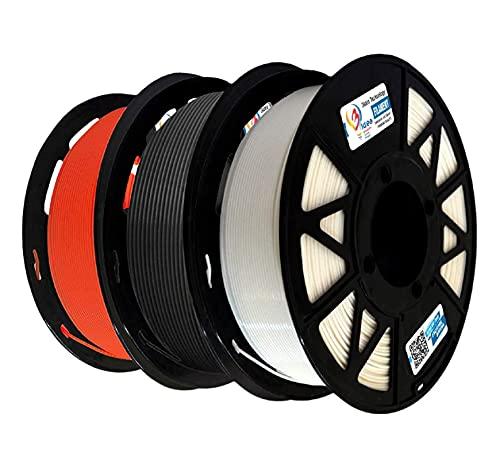3Idea Filament Bundle (Black, White, Red)