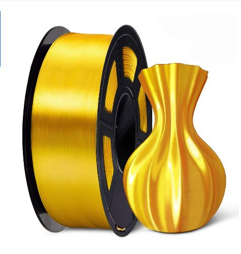 Silk PLA Filament Light Gold