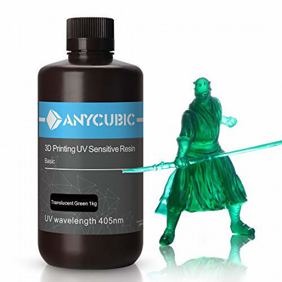 Trans. Green Standard UV Resin - 1Kg