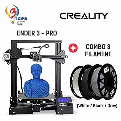 Creality Ender-3 Pro + 3IDEA PLA White Combo