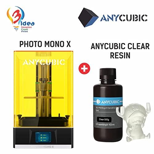 Photon Mono X 3D Printer +  CLEAR Resin